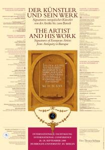 Plakat zur Tagung