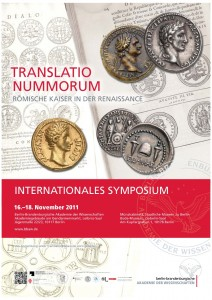 TRANSLATIO NUMMORUM - Plakat