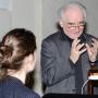 Abendvortrag im Rahmen der Tagung Rueckgang ins Unbestimmte, Prof. Dr. Gottfried Boehm, Foto: Barbara Herrenkind