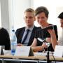 Symposium: Regard Croisés, PD Dr. Boris Roman Gibhardt, Prof. Dr. Claudia Blümle, Prof. Dr. Johannes Grave, Ann-Cathrin Drews M.A., Dr. Julie Ramos, Foto: Aila Schultz