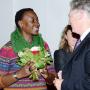 Fakultätsgründungsfeier, Prof. Dr. Maisha Maureen Eggers und Prof. Dr. phil.Dr. h.c. Jürgen van Buer , Foto: Barbara Herrenkind