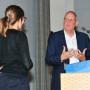 Forum Kunst des Mittelalters, Judith Utz und Prof. Dr. Kai Kappel, Foto: Barbara Herrenkind