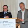 Torgespräch: Prof. Dr. Peter-Klaus Lehmann,Prof. Dr. Horst Bredekamp, Foto: Aila Schultz