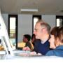 Mediathek Studioausstellung, Steffen Haug, Dr. Ulrike Tarnow, Foto: Aila Schultz