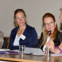 Tagung: New Territories, Prof. Liz Wells, Prof. Charlotte Klonk, Prof. Bettina Gockel, Prof. Malcolm Andrews, Foto: Barbara Herrenkind