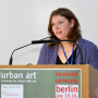 Urban Art Tagung Berlin, Katja Glaser, Foto: Barbara Herrenkind