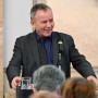 Forum Kunstgeschichte Italiens, Botschaft der Italienischen Republik, Prof. Dr. MIchael Kämper-van den Boogaart, Foto: Barbara Herrenkind