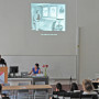Symposium: Regard Croisés, Prof. Dr. Christophe Gautier, Dr. des. Eva Kuhn, Foto: Barbara Herrenkind