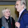 Feierliche Verabschiedung, Prof. Dr. Ruth Tesmar, Prof. em. Dr. Hartmut Böhme, Foto: Barbara Herrenkind