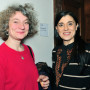 (ART) THEORY IS A PASSIONATE FICTION, Prof. Giovanna Zapperi und Prof. Elena Zanichelli, Foto: Aila Schultz
