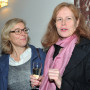(ART) THEORY IS A PASSIONATE FICTION, Prof. Susanne Leeb und Prof. Kathrin Peters (re), Foto: Aila Schultz
