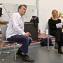 John Bock mit Prof. Dr. Charlotte Klonk