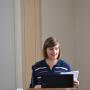 Zweites Doktorandenforum, Julia Secklehner, Foto: Jordane de Faÿ