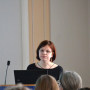 Zweites Doktorandenforum, Marija Podzorova, Foto: Jordane de Faÿ