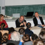 Humboldt Meetings III, Prof. Régis Michel, Prof. Charlotte Klonk, Artur Żmijewski, Prof. Piotr Piotrowski und Katharina Lee Chichester, Foto: Andreas Baudisch