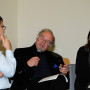 Humboldt Meetings I, Christoph Hochhäusler, Prof. Régis Michel und Katharina Lee Chichester, Foto: Andreas Baudisch