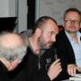 Humboldt Meetings III, Prof. Régis Michel, Artur Żmijewski und Prof. Piotr Piotrowski, Foto: Andreas Baudisch