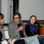 Humboldt Meetings V, Dr. Matthias Bruhn, Caroline Berhmann, Harun Farocki, Katharina Lee Chichester und Prof. Régis Michel, Foto: Andreas Baudisch