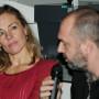 Humboldt Meetings III, Prof. Charlotte Klonk und Artur Żmijewski, Foto: Andreas Baudisch