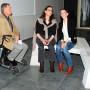 Expanding the Grid - Vernissage am 17. Oktober 2012, Dr. Guido Lammers, Dr. Dr. Erna Fiorentini, Stefanie Gerke M.A. Foto: Barbara Herrenkind