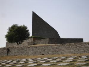Passo della Futa (Italien), Kriegsgräberstätte, Entwurf: Dieter Oesterlen, Foto: Kai Kappel