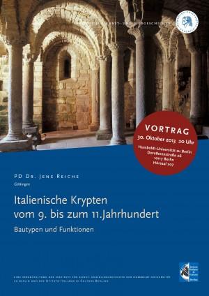 Reiche-Italienische Krypten vom 9. bis zum 11. Jahrhundert. Bautypen und Funktionen
