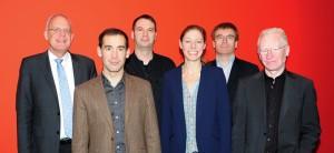 Kai Kappel, Bastien Saquet, Karsten Asshauer, Friederike Kleinfercher, Georg Schelbert, Wilhelm Frank (Foto: Barbara Herrenkind)
