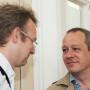 Tagung Vokabulare und Klassifikationen, Christian Berndt und Markus Schnöpf, Foto: Andreas Baudisch