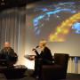 Image Operations, PhD Trevor Paglen und Prof. Isabelle Graw, Foto: Barbara Herrenkind