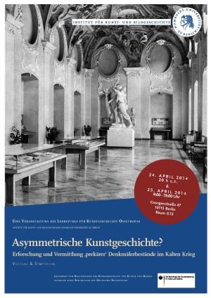 Symposion 'Asymmetrische Kunstgeschichte' 24. und 25.04.2014_Seite_1