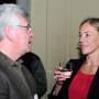 Absolventenfeier, Dr. Peter Seiler und Prof. Charlotte Konk, Foto: Andreas Baudisch