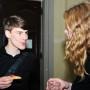 Absolventenfeier, Tilmann Steger und Sara Hillnhütter, Foto: Andreas Baudisch
