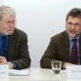 Pressekonferenz Galileo's O III, Prof. Dr. Nicholas Pickwoad und Dipl.-Ing. Manfred Mayer, Foto: Barbara Herrenkind