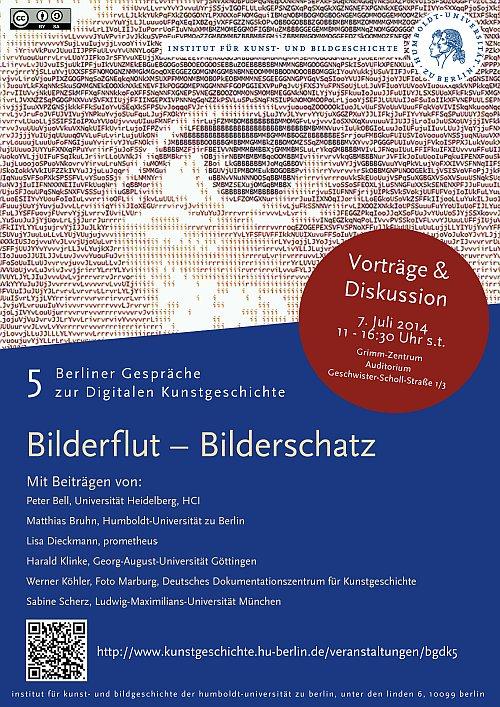 Plakat Bilderflut - Bilderschatz