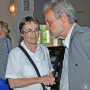 Looking back to look forward, Prof. von Falkenhausen und Prof. Bredekamp, Foto: Barbara Herrenkind
