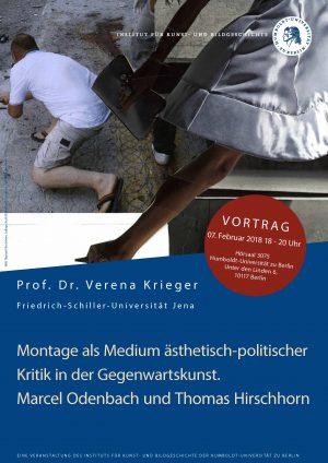 Vortrag: Prof. Dr. Verena Krieger