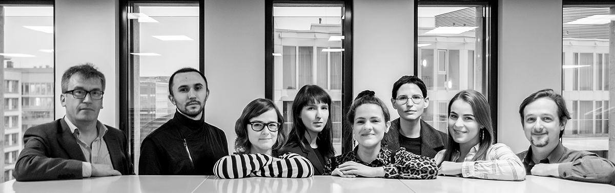 Team der Mediathek 2018, Foto: Peter Meier