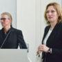 Kuratorenvortrag von Gorch Pieken, Gorch Pieken und Margarete Pratschke, Foto: Barbara Herrenkind