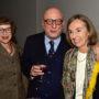 Abschiedsvorlesung Arnold Nesselrath, Frau und Herr Langner mit Christiane Denker Nesselrath, Foto Barbara Herrenkind