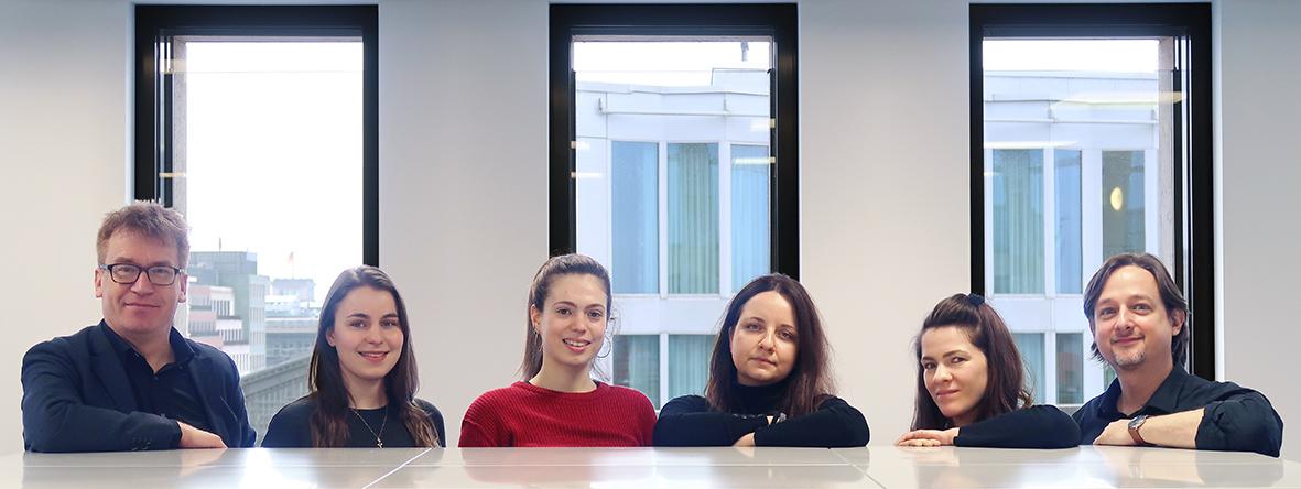 Team der Mediathek Februar 2020. Foto: Alina Pilz