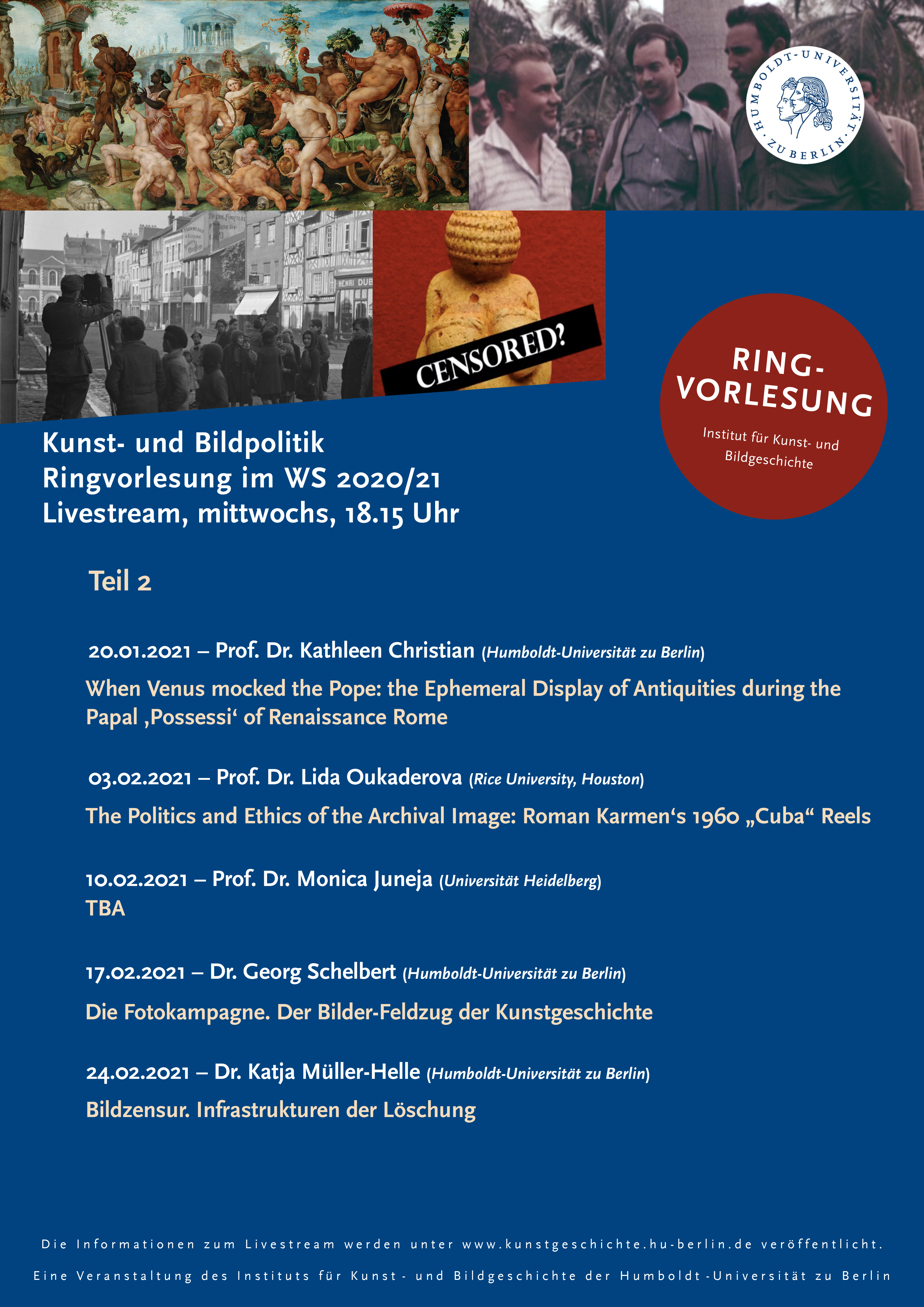 Ringvorlesung Hu Berlin