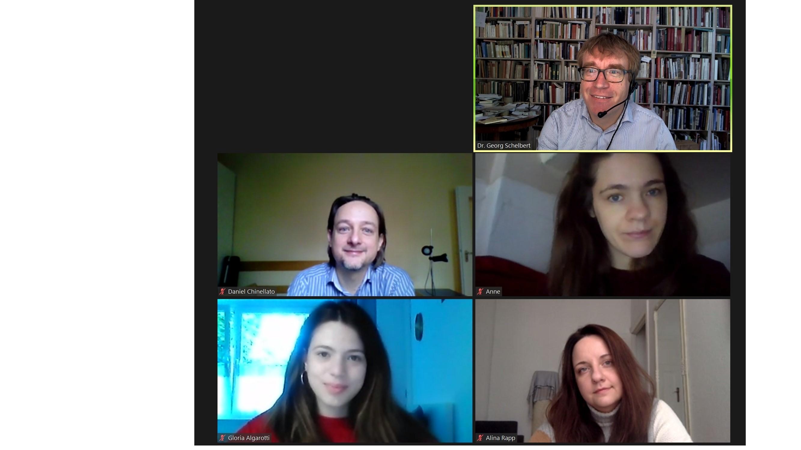 Team der Mediathek Oktober 2020.