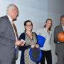 Looking back to look forward, Prof. Kappel, Fr. Lorenz, Fr. Greiner-Petter, Prof. Bredekamp, Foto: Barbara Herrenkind