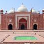 Taj Mahal, Moschee, Foto: Barbara Herrenkind