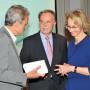Torgespräch: Prof. Dr. Horst Bredekamp, Prof. Dr. h.c. Klaus-Dieter Lehmann, Dr. Susanne Schüssler, Foto: Aila Schultz