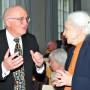 Vortragsabend in memoriam Prof. Dr. Peter H. Feist, Dr. Michael Feist und Gast, Foto: Aila Schultz