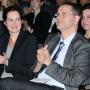 Fakultätsgründungsfeier, Anna Blankenhorn und Prof. Dr. Jan-Hendrik Olbertz, Foto: Barbara Herrenkind