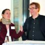 Mediathek Studioausstellung, Dr. Tatjana Bartsch, Dr. Georg Schelbert, Foto: Aila Schultz