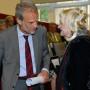 Feierliche Verabschiedung von Prof. Dr. Ruth Tesmar, Prof. Dr. Horst Bredekamp, Prof. Dr. Ruth Tesmar, Foto: Barbara Herrenkind