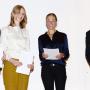 Fakultätsgründungsfeier, Stefanie Gerke M.A., Franziska Solte M.A., Prof. Dr. Charlotte Klonk, Dr. phil. Matthias Bruhn, Foto: Barbara Herrenkind
